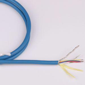 6 core shielded spo2 cable